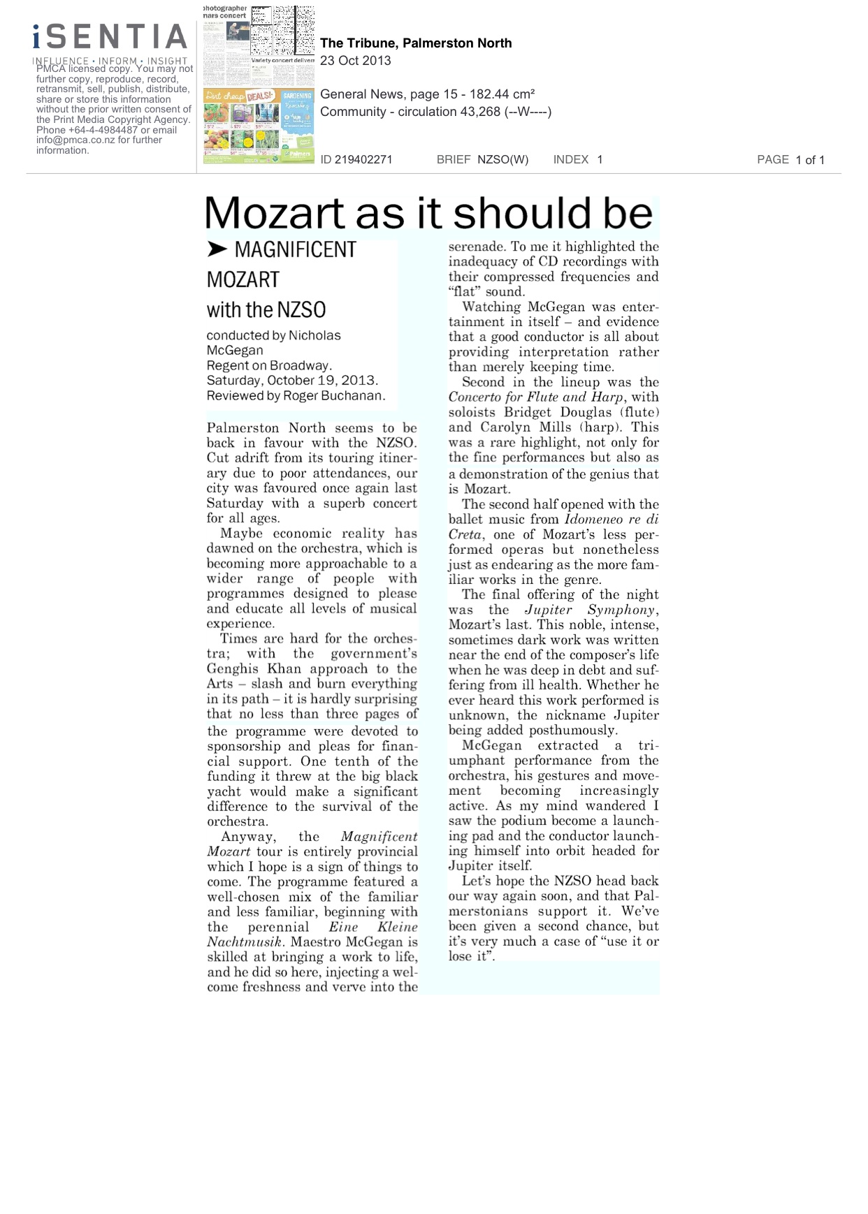 The-Tribune.PalmerstonNorth.Review.MagMozart.23.10.13