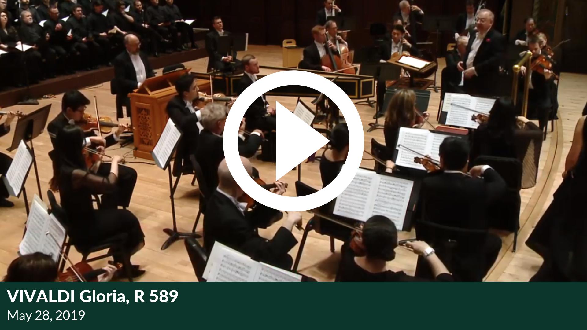 Vivaldi Gloria, R 589