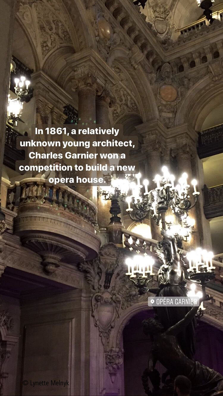 Palais Garnier, Opera in Paris, France