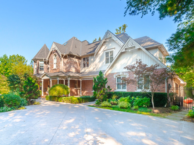$5,899,000 - This home is truly spectacular! A Victorian replica with a wrap around porch, gingerbread, and a turret to complete it's one of a kind curb appeal.