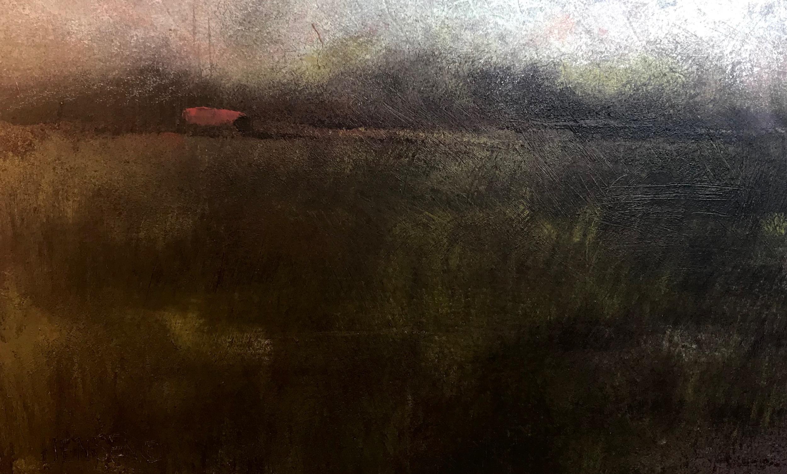 Farm Landscape #15 framed 12.5x16 $570