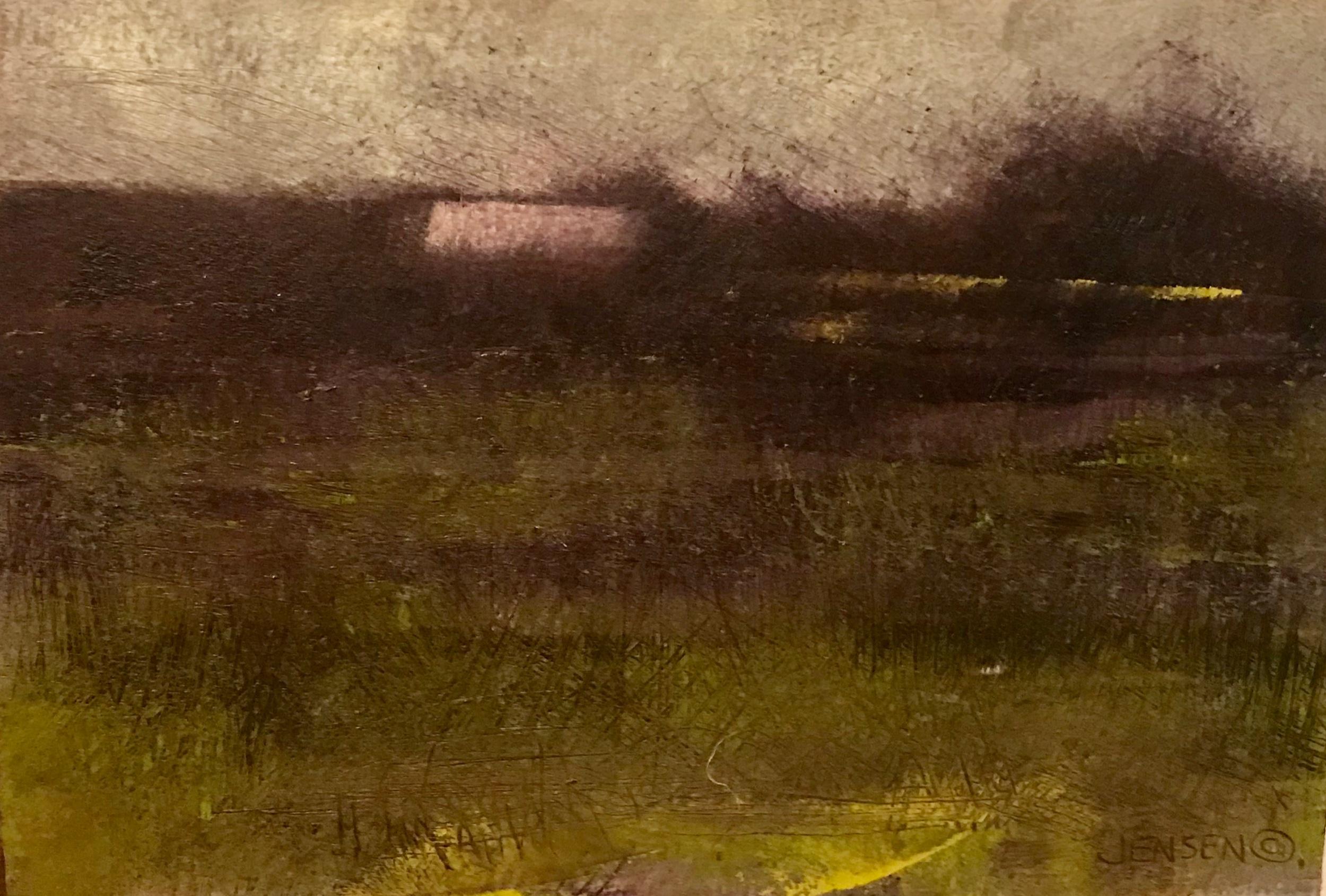 Farm Landscape #20 framed 13.25x15.75 $580