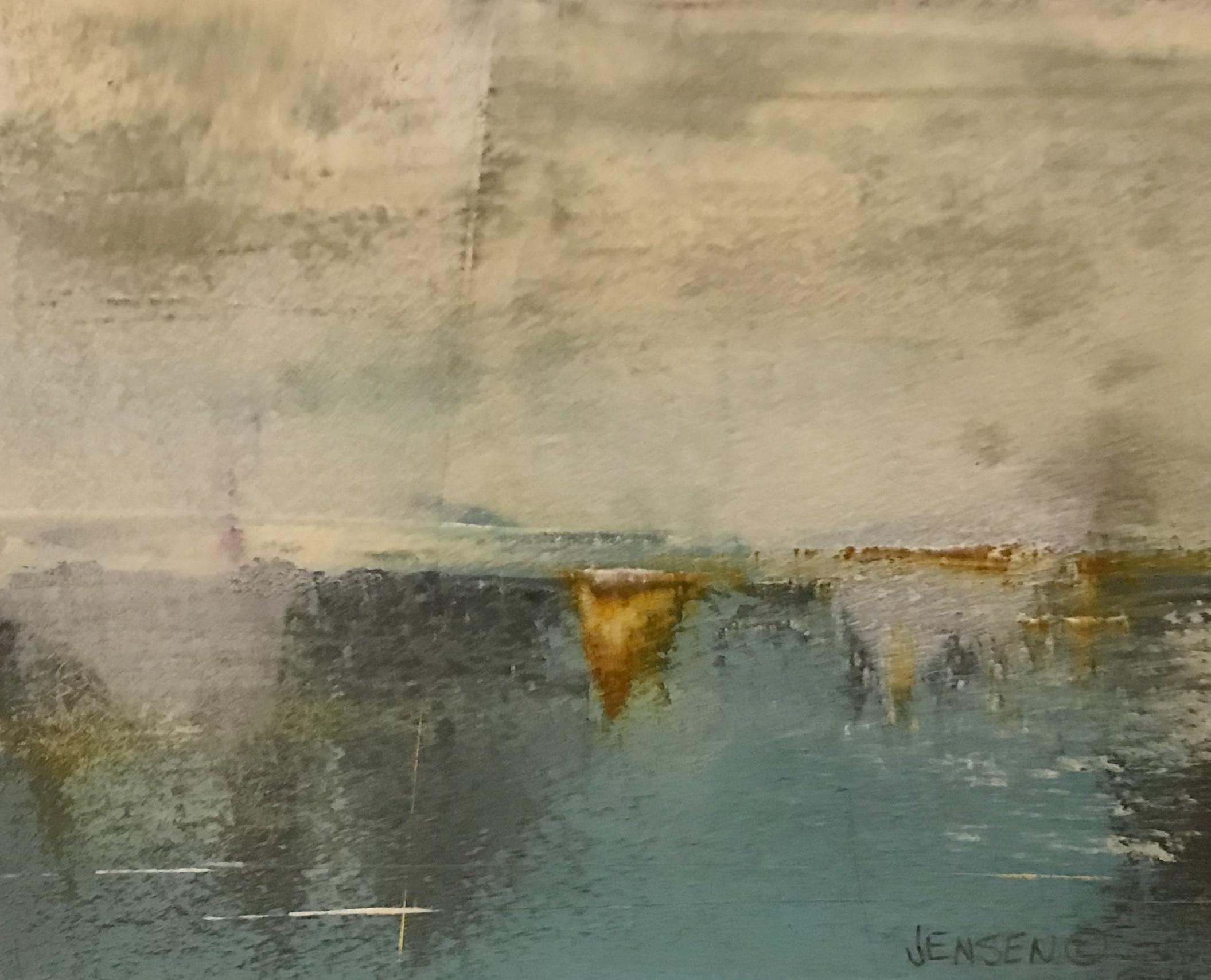 Ocean Landscape #1 framed 12x13 $500
