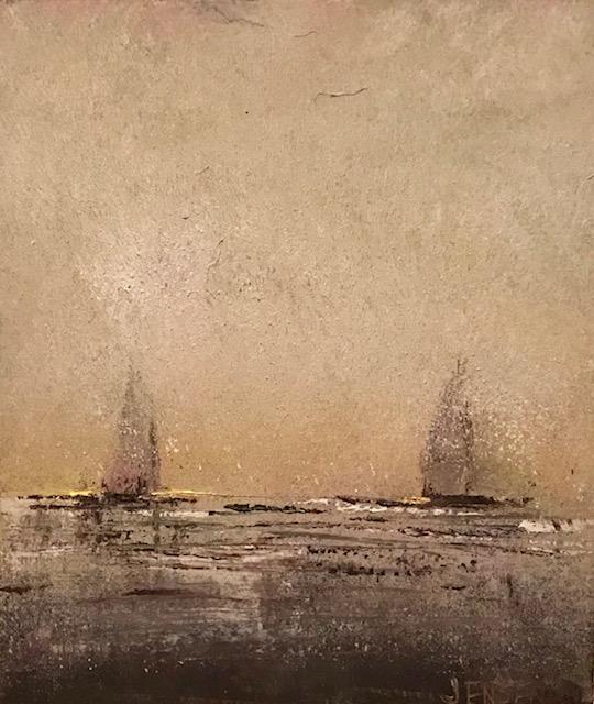 Ocean Landscape #16 framed 12x13 $500