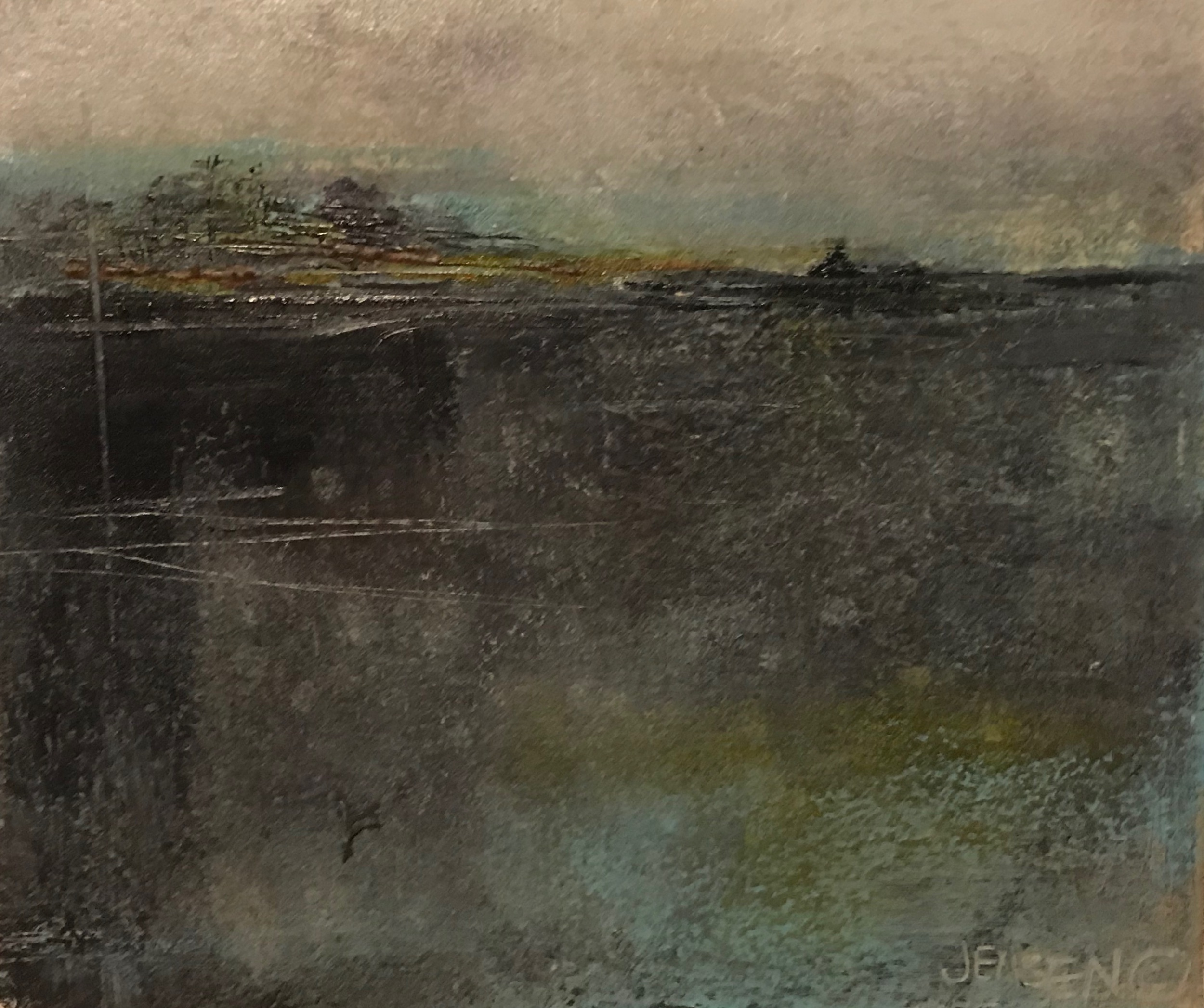 Ocean Landscape #27 framed 12x13 $500