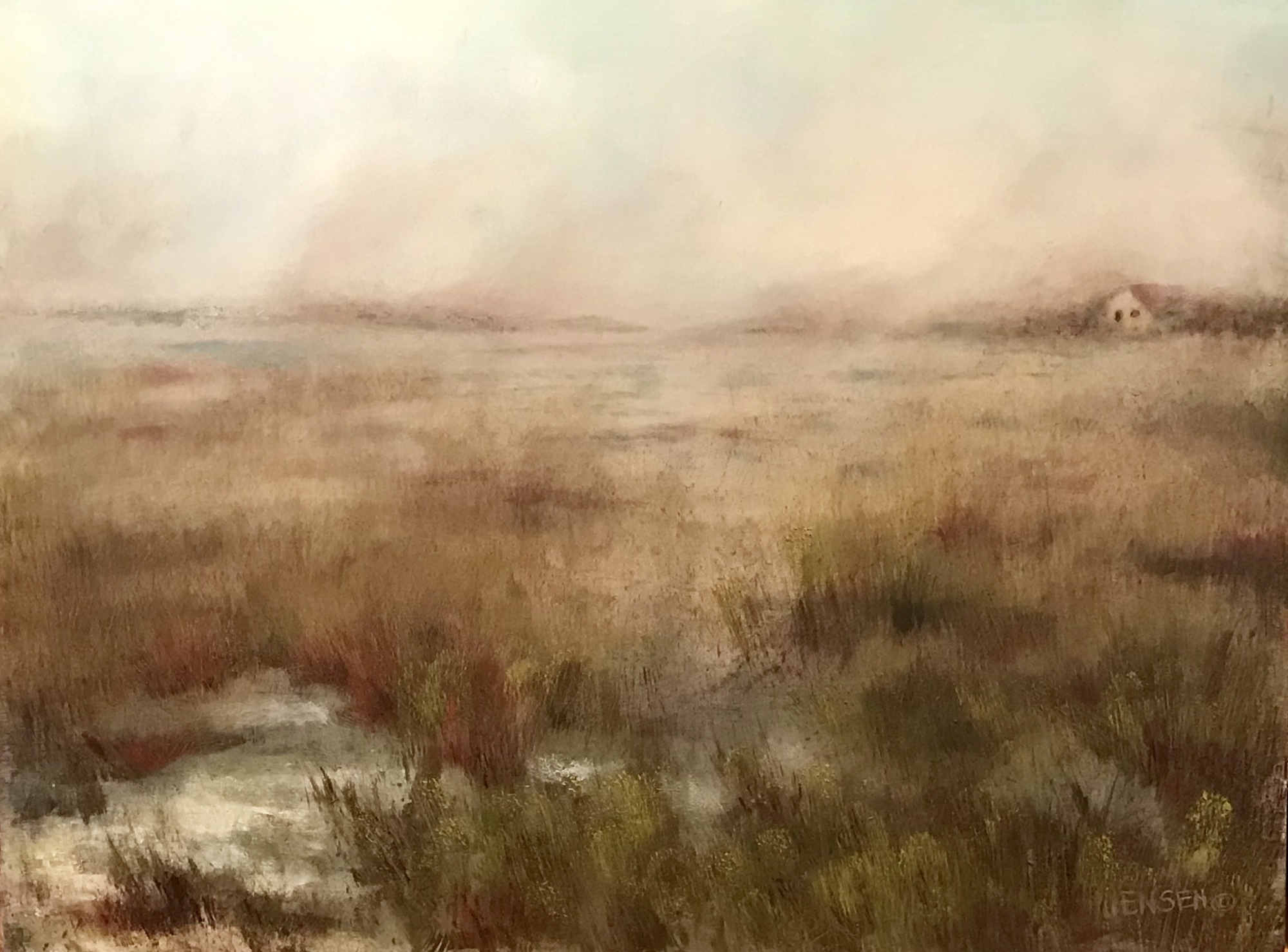 Foggy Marshland SOLD