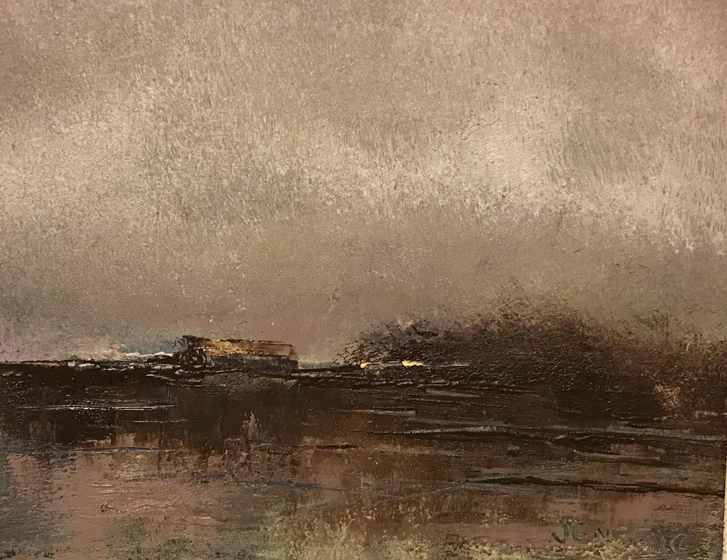 Landscape #31 framed 12.25x13 $500