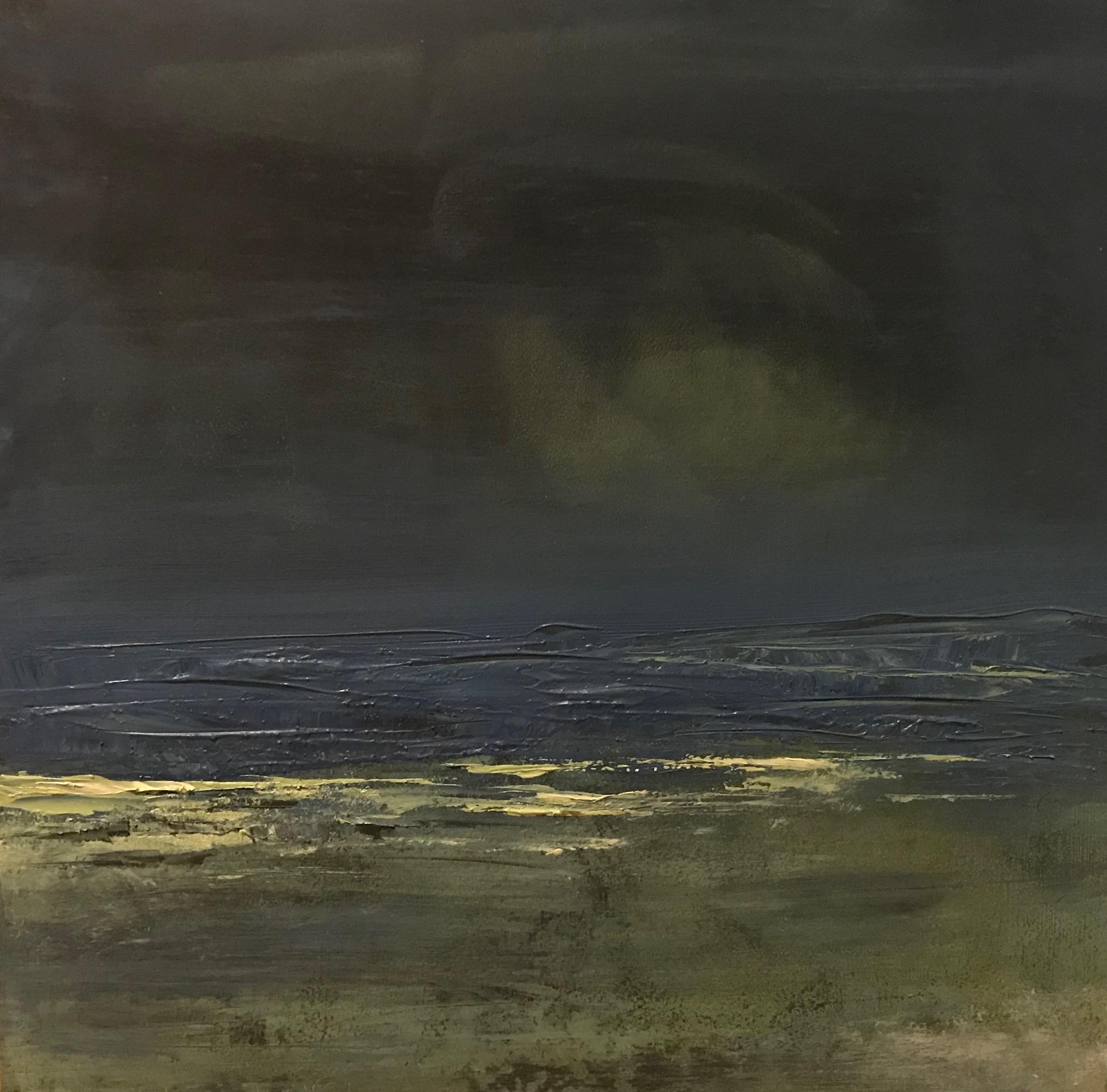 """Landscape #33 unframed 8""""x8"""" cradled board 1.5"""" $300"""