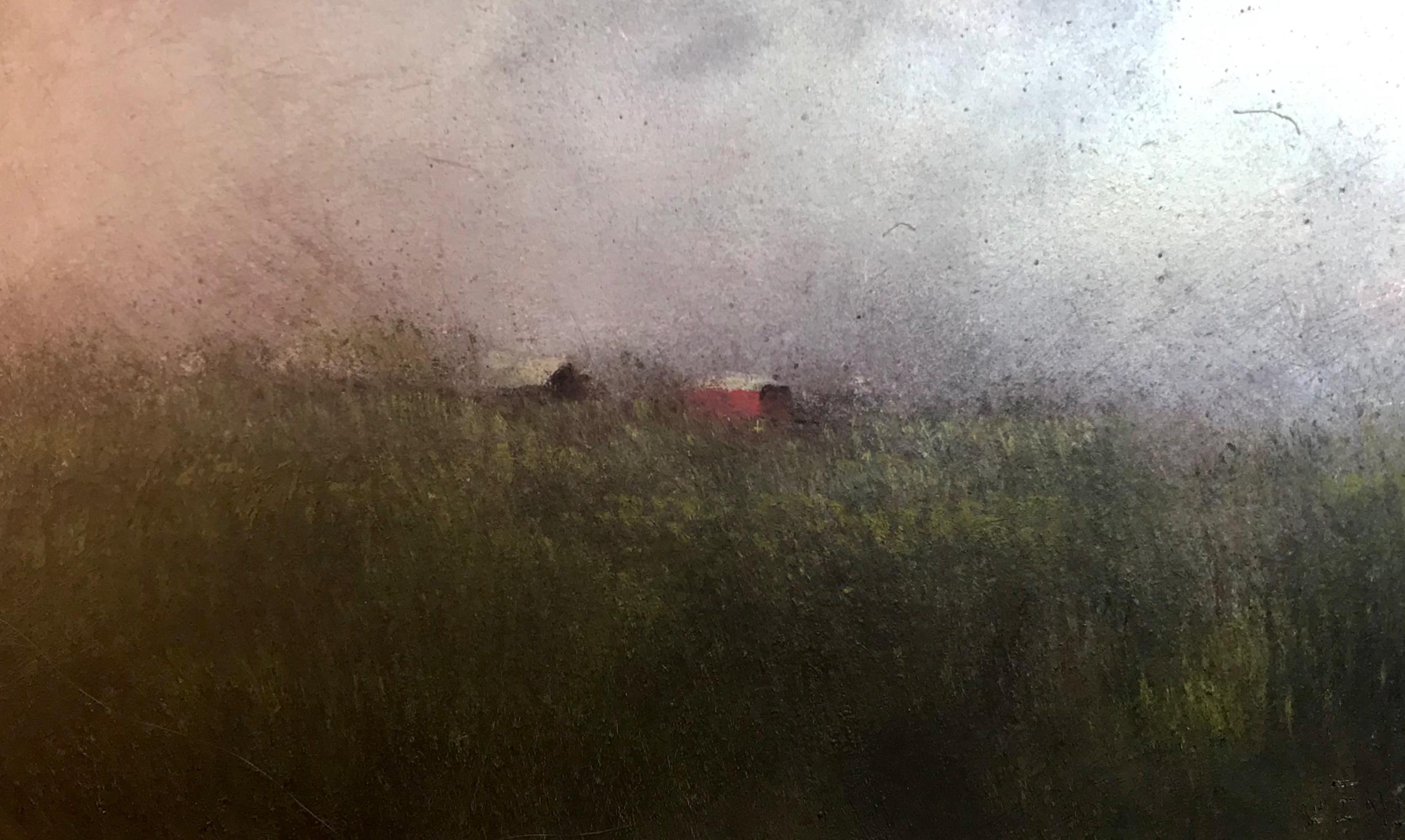 Farm Landscape #21 framed 12.5x16 $570 SOLD