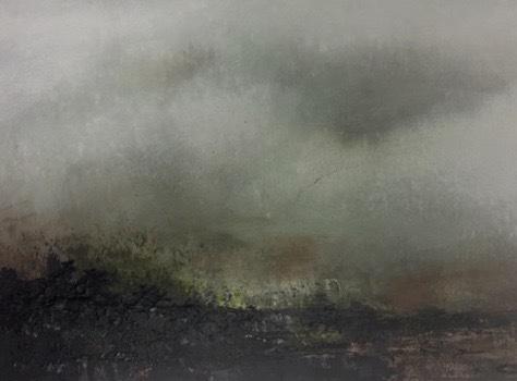 """Landscape #23 framed 17.5"""" x 15.25"""" $650"""