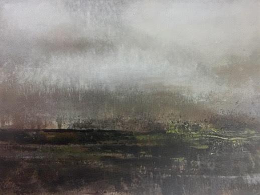 """Landscape #26 framed 17.5"""" x 15.25"""" $650"""