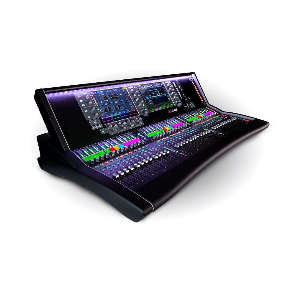 Mixer Allen & Heath Dlive S7000 with Dante  36 Faders / 96 Khz   Rental Price: 800 euros / Day