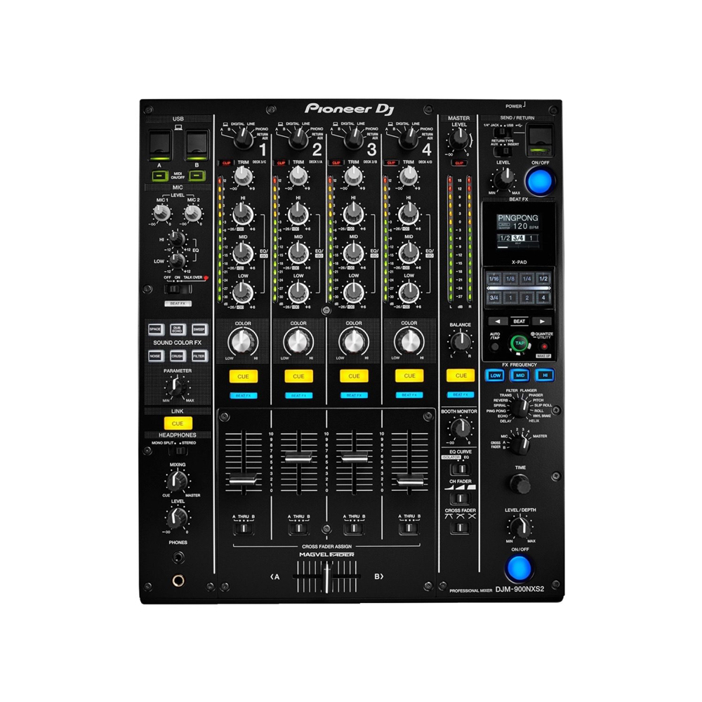 PIONEER MIXER DJM 900 NSX2    Rental Price: 100 euros / Day