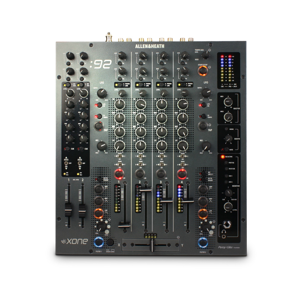 ALLEN & HEATH MIXER XONE 92    Rental Price: 100 euros / Day
