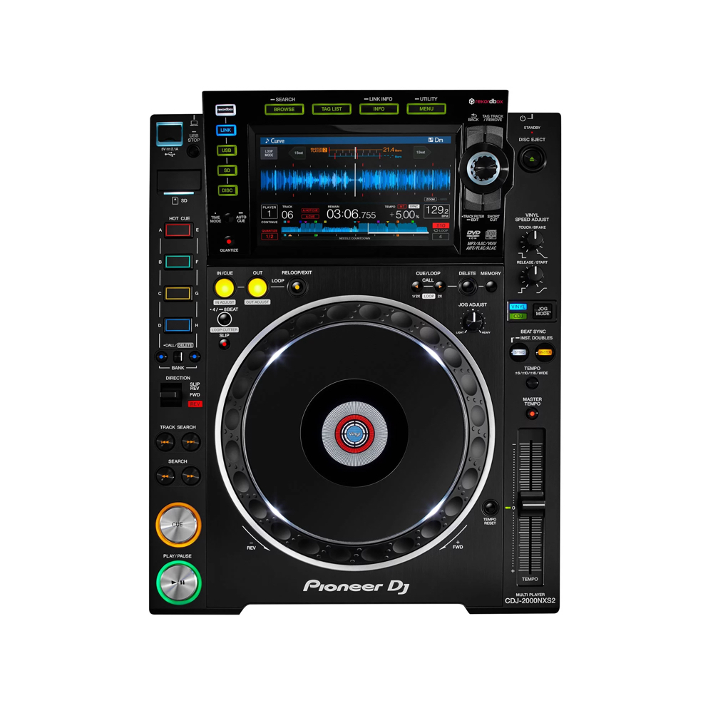PIONEER CDJ 2000 NXS2    Rental Price: 100 euros / Day