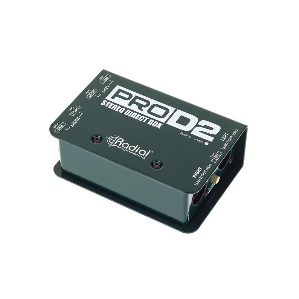 Radial pro D2 Di Stereo    Rental Price: 15 euros / Day