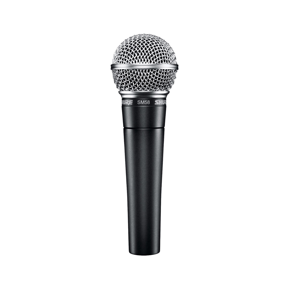 SHURE SM58    Rental Price: 10 euros / Day