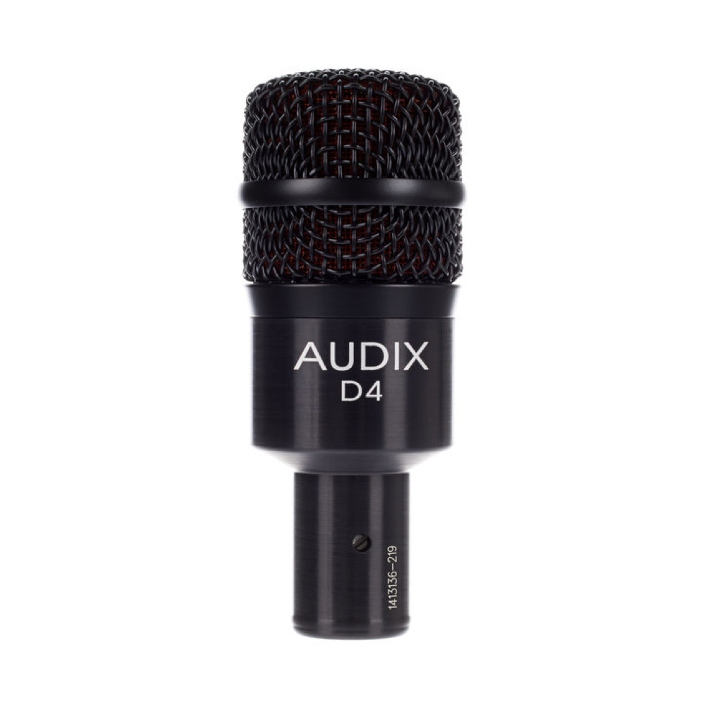 AUDIX D4    Rental Price: 25 euros / Day