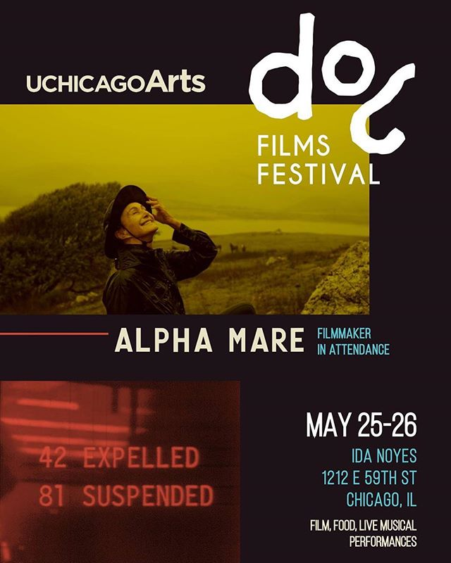 We are finally bringing Alpha Mare home for our first screening in Chicago! We're so excited to announce that the film will be screening on Saturday, May 25th at Ida Noyes Hall as part of the @docfilmschicago Doc Films Festival - and we'll be in incredibly esteemed company! Catch us afterwards for a Q&A, and check out all the other films playing as well - these are all some of our favorites. RSVP & ticket link in bio. #alphamare