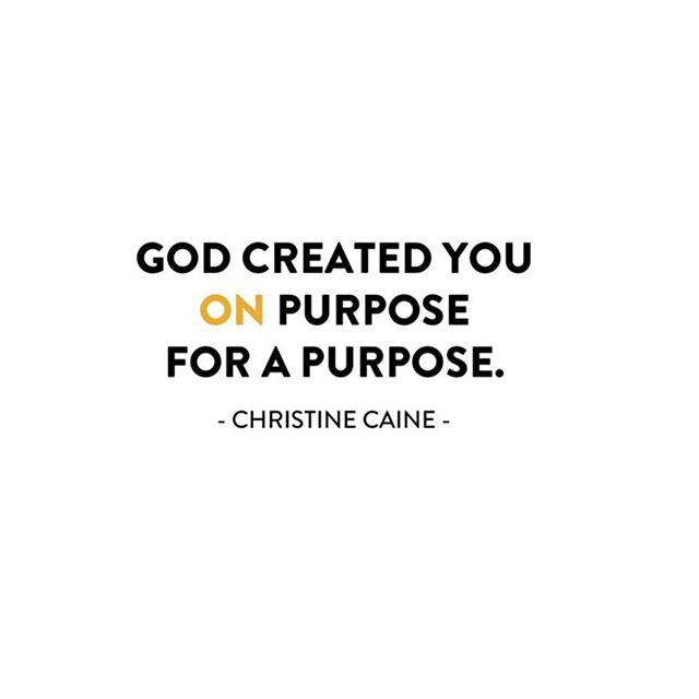 Loved this post yesterday from @truthtotable !! You have a purpose. Dig deep and find the things you love. Then discover your purpose by letting God reveal it to you.