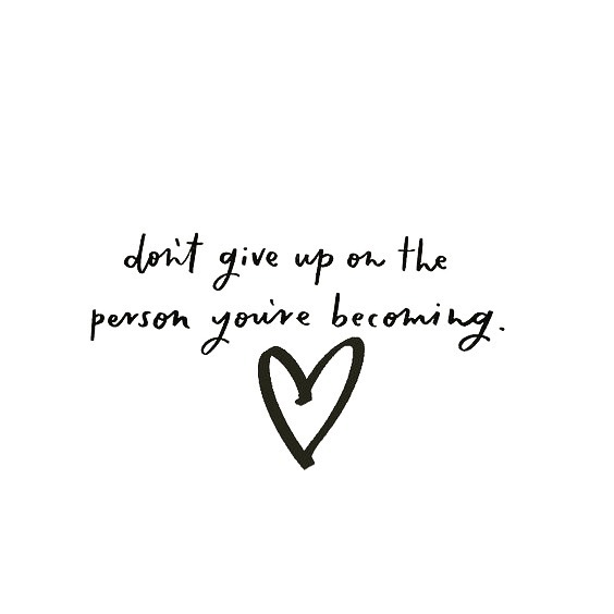 Happy Monday! Someone out there needs this today. We believe in you. Stay the course. 🖤