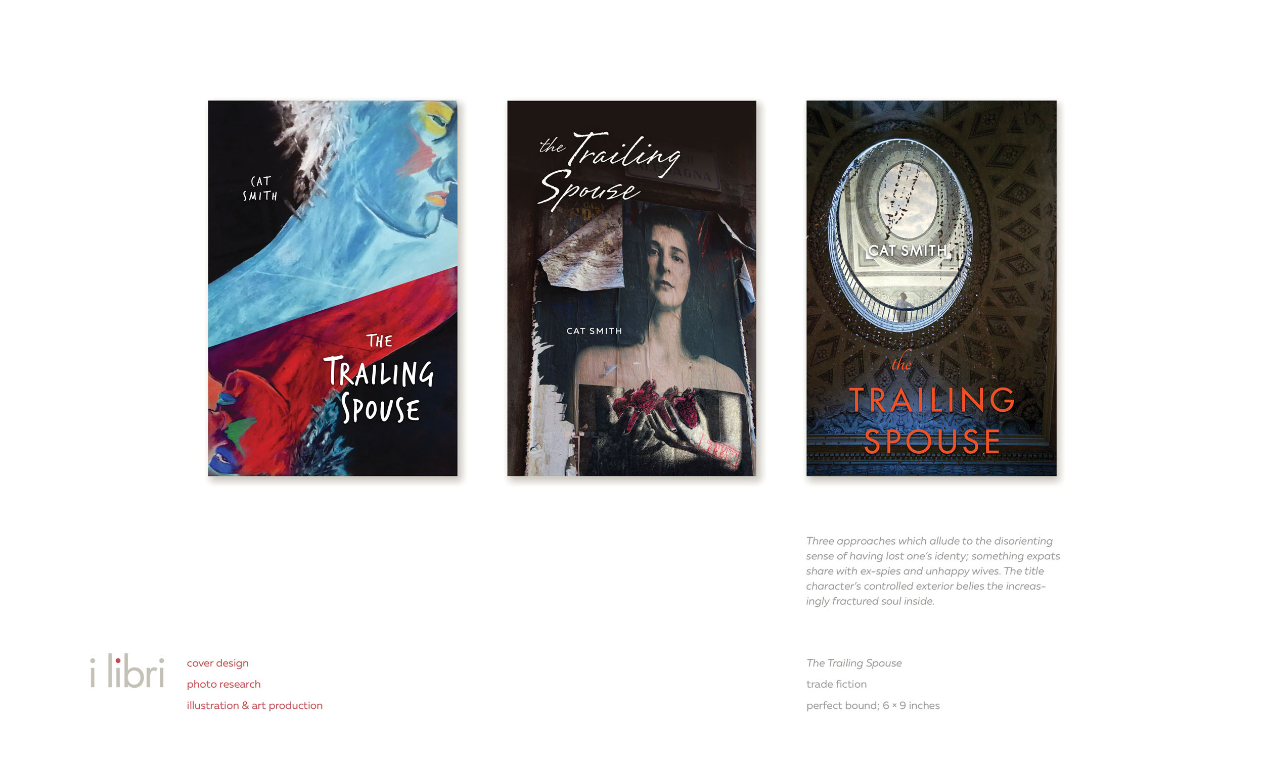 The Trailing Spouse  | cover design, photo research, illustration & art production
