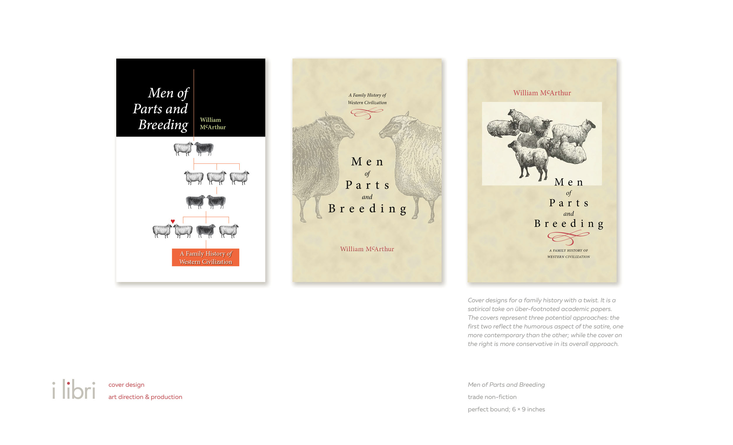 Men of Parts and Breeding  | cover design