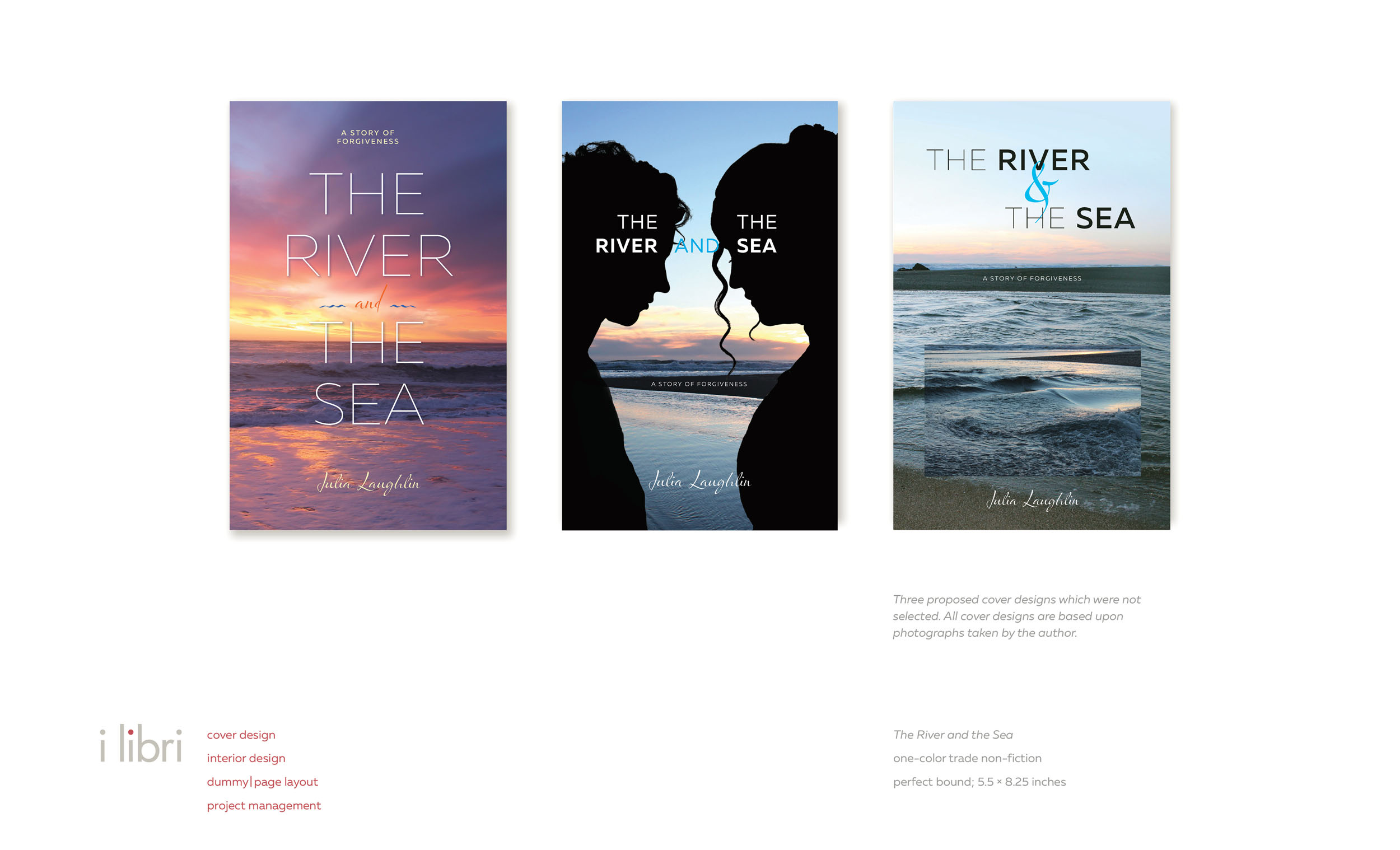 The River and the Sea  | alternative cover designs
