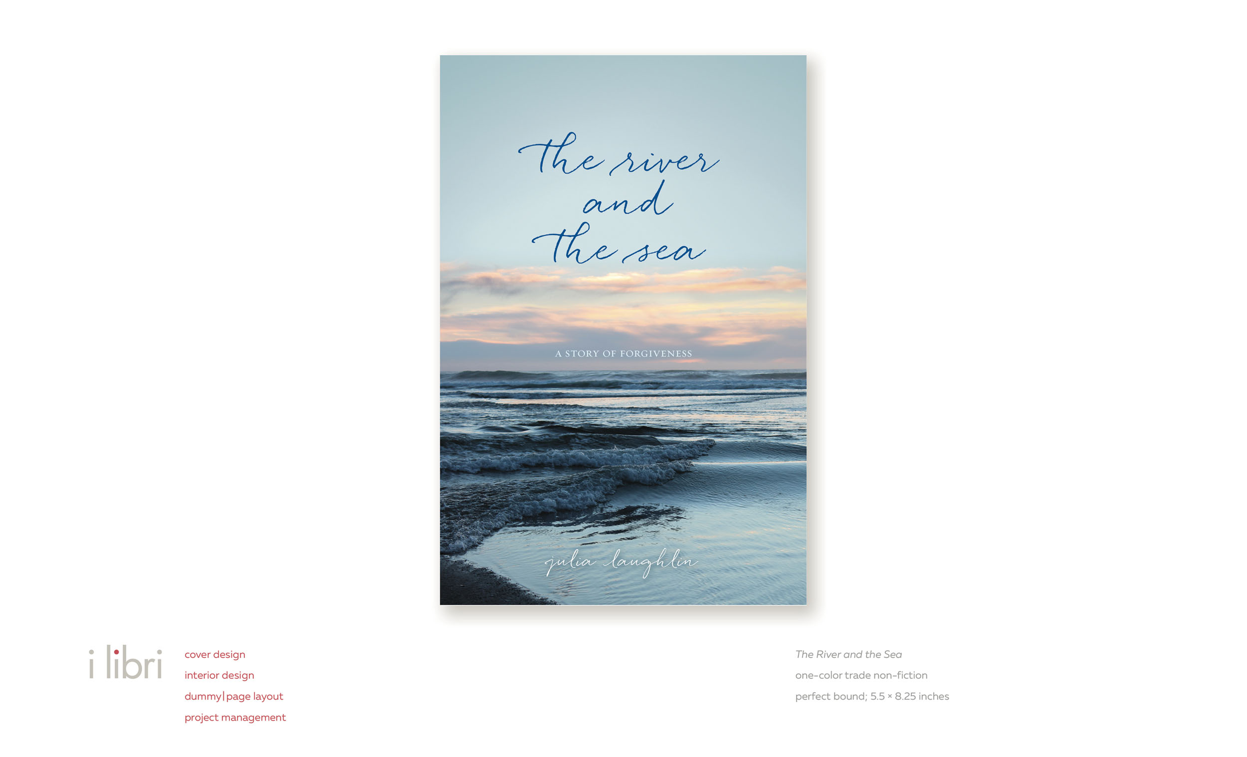 The River and the Sea  | cover design