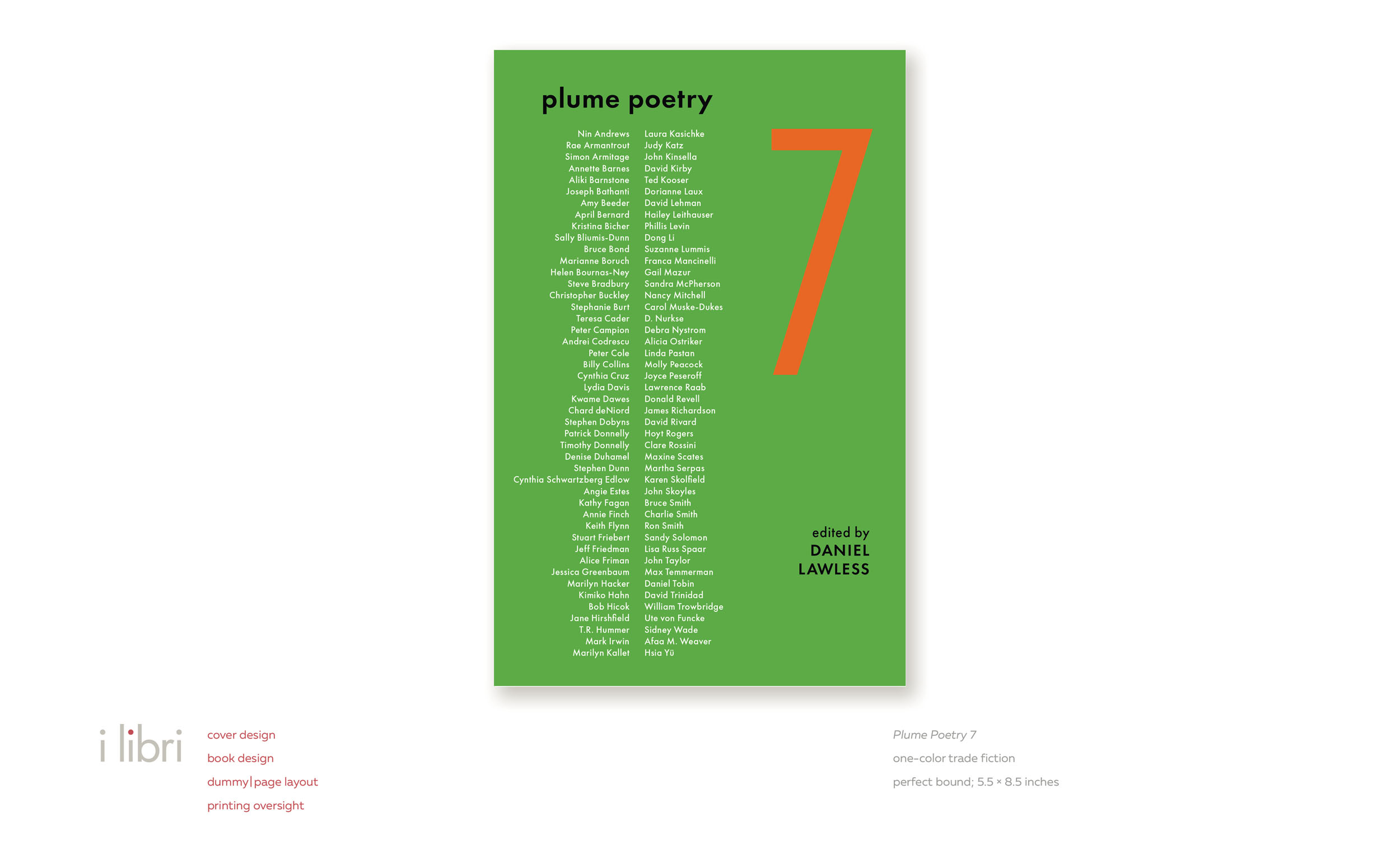 Plume Poetry 7  | cover design