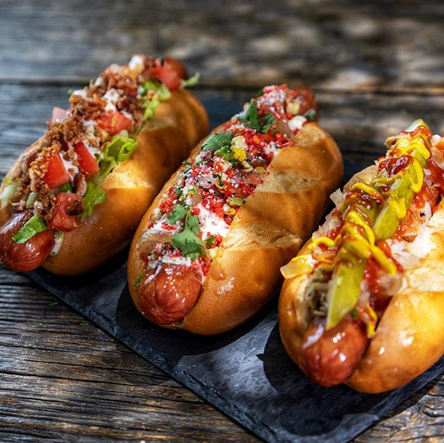 Oh my DOG! It's almost the weekend & I'll take all three 🙌 🌭🌭🌭 we open at 8pm tonight 🚌 follow us @joyofhotdog  BLT Club 🥓, bacon wrapped hot dog, cheddar cheese, garlic ranch, shredded lettuce, chopped Roma tomatoes, bacon bits, & garlic chips.  Cheeto Dog 🔥, roasted corn sala, cojita cheese, caramelized onions, garlic lime mayo, bacon bit and ground flaming hot cheetos  Classic Fremont Dog 🌭, cider braised onions, sauerkraut, pickle spear, whole grain mustard & ketchup  #hotdogs #joyofhotdog #dtlv #feedfeed #ohmydog #yummy #foodpics #igfoodie #hotdog #classicfremontdog #cheetodog #bltclub #foodtruckeats #eeeeeats #bestfood #insiderfood #eat #hungry #localeats #discoverfoodtrucks #foodporn #vegasfoodie #lasvegaslocal #vegasbound #vegaseats #openlate #fremontstreeteast