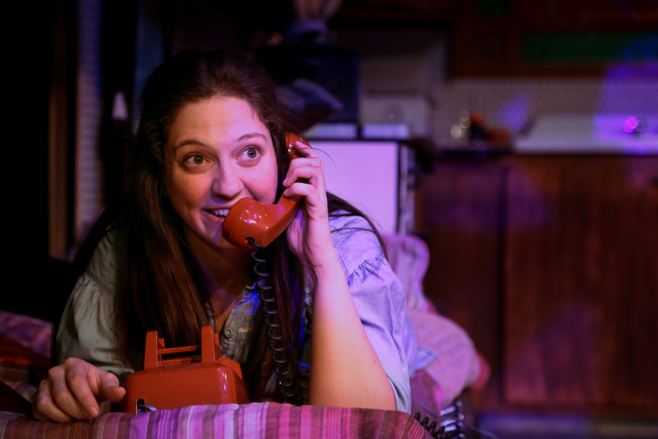 Rachel Gluck in  Crimes of the Heart , Curio Theatre, 2017