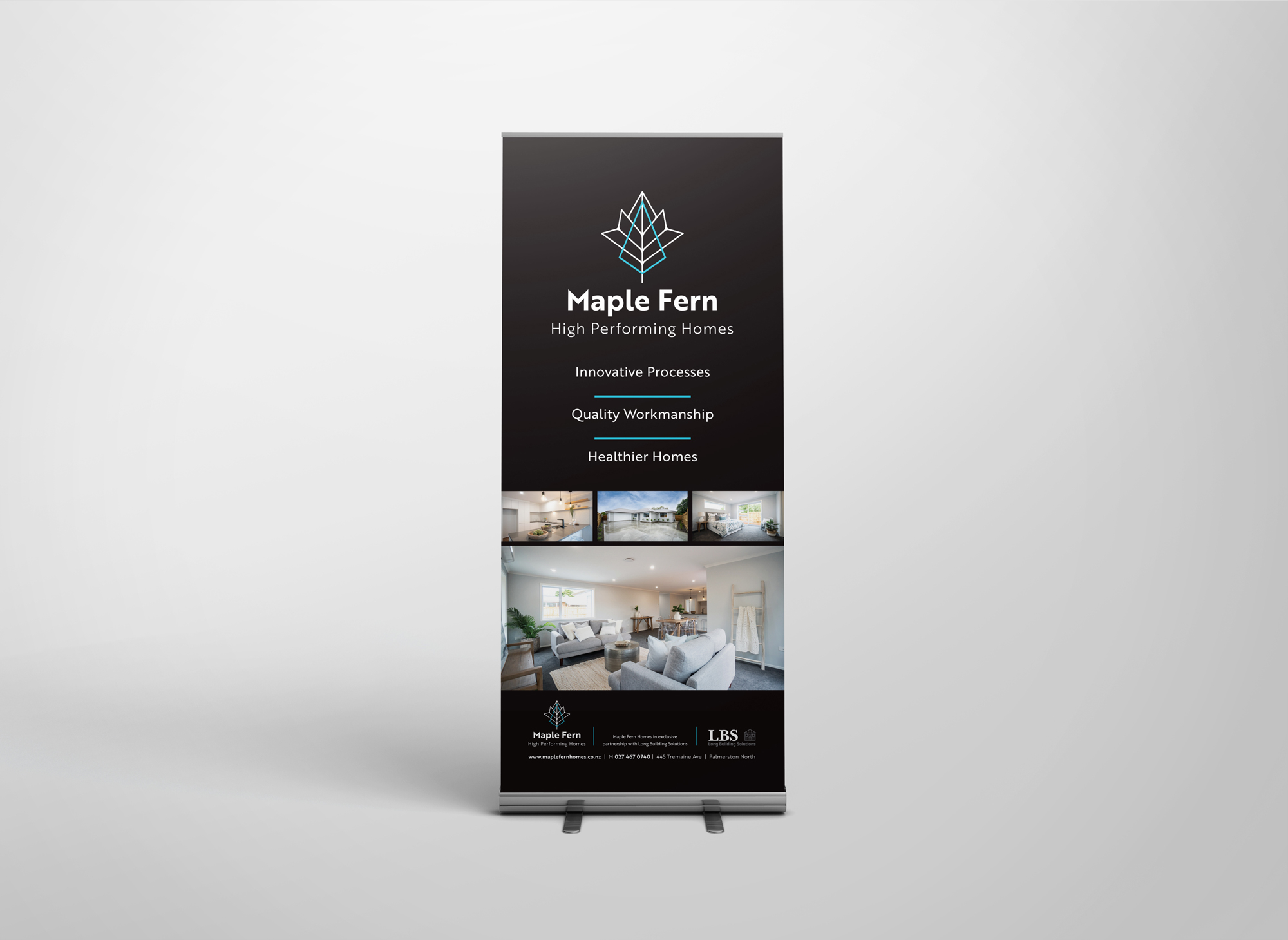 Pull up Indoor banner