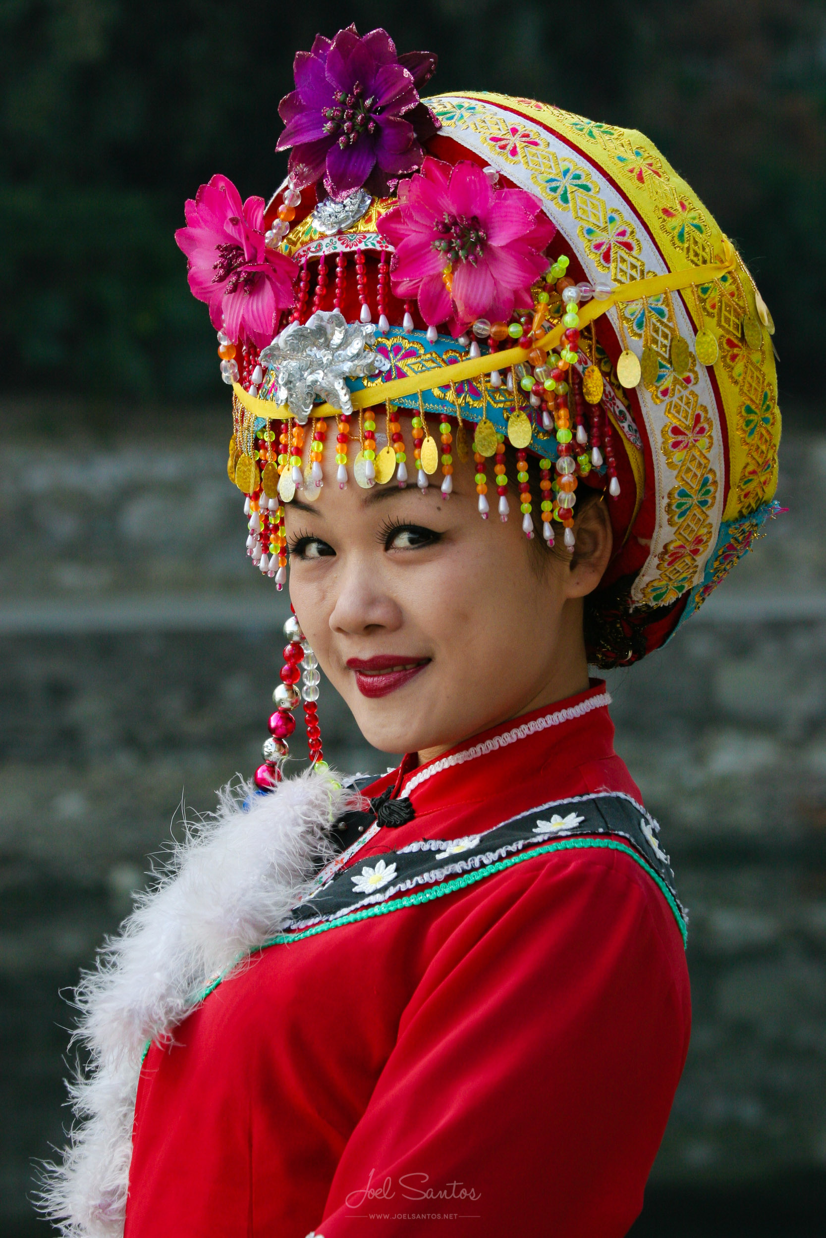 Chinese Woman, Guilin, China