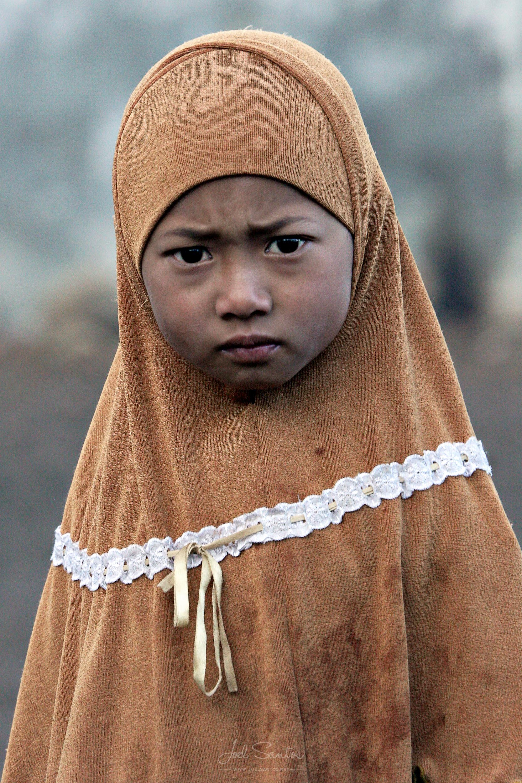 Javanese girl, Java, Indonesia