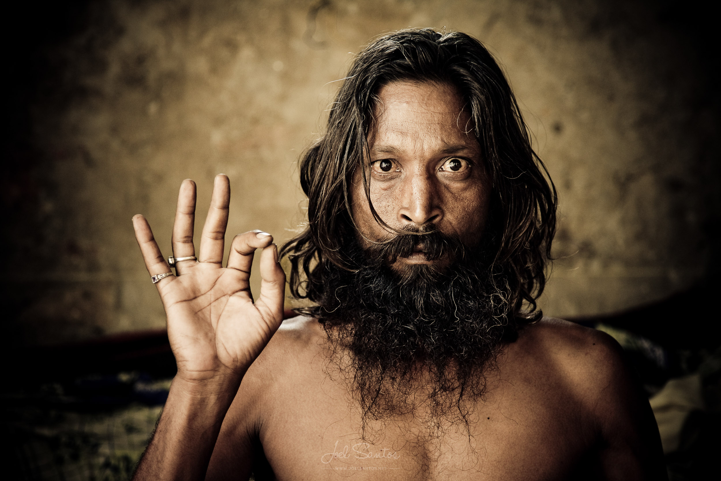 Sadhu, Holy man, Jaipur, India