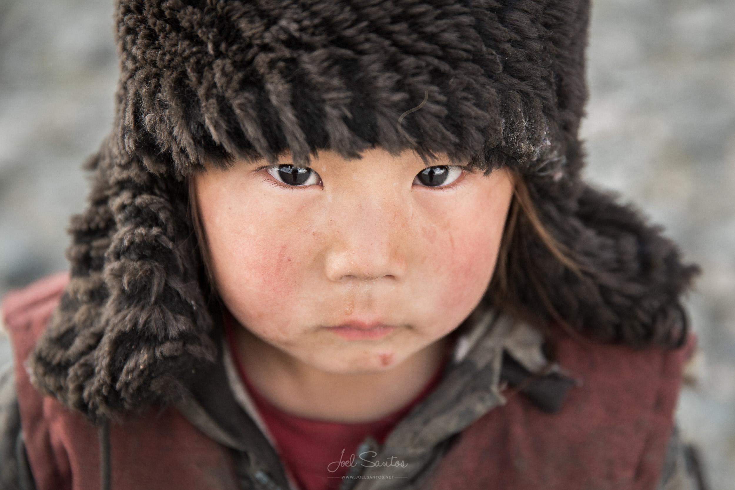 Kazakh nomad boy, Western Mongolia