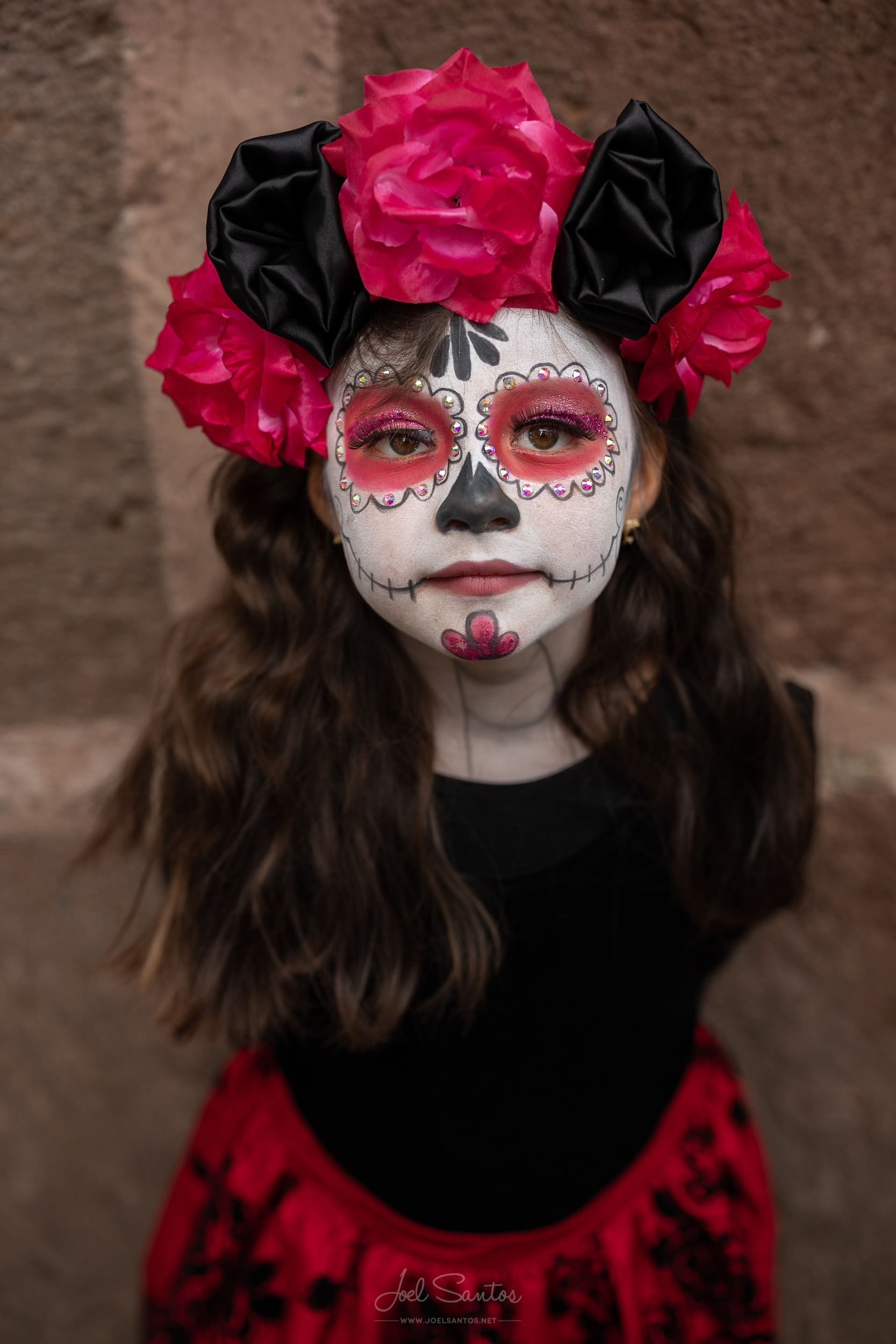 Girll at Day Of The Dead, Mexico