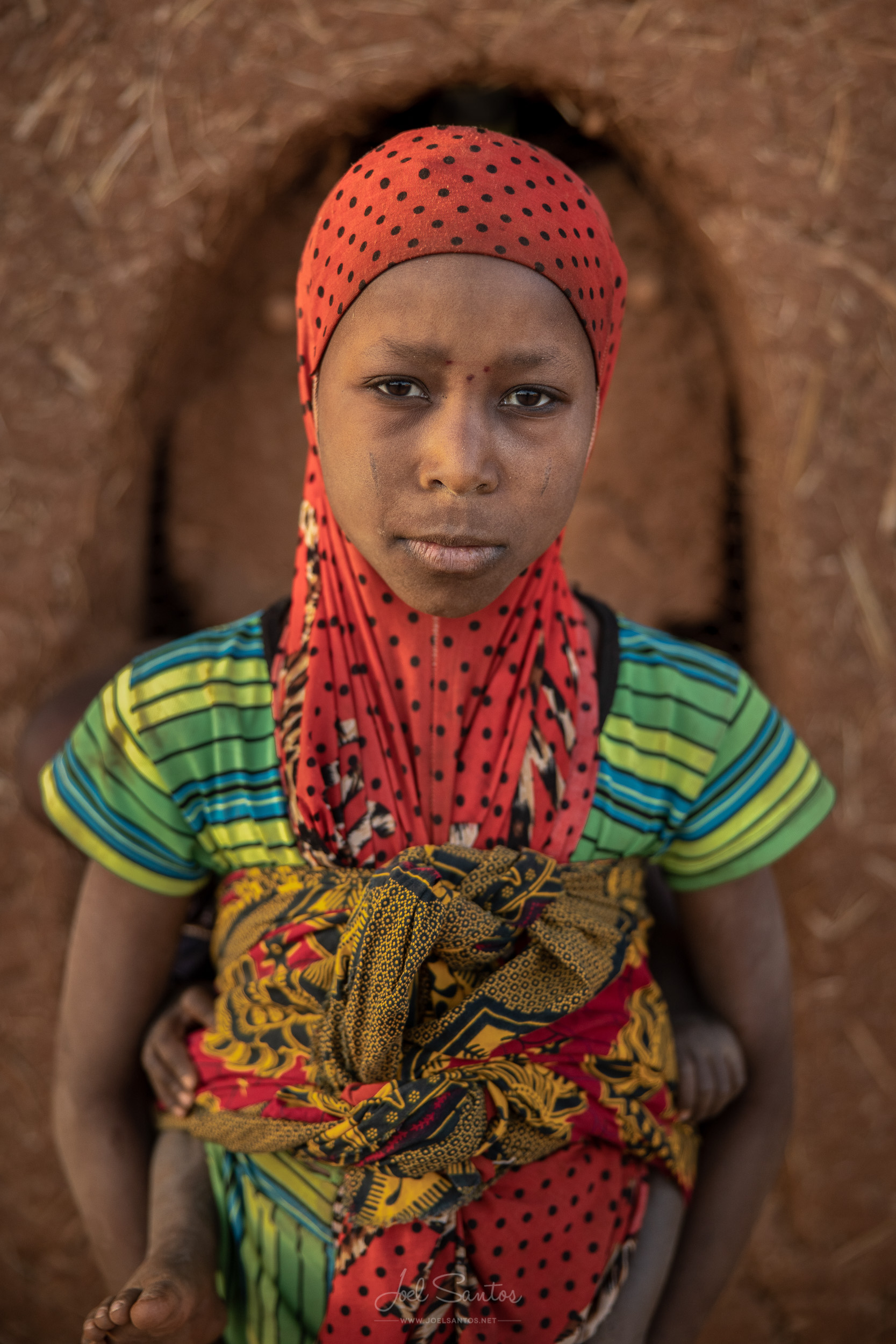 Village Girl, Niger