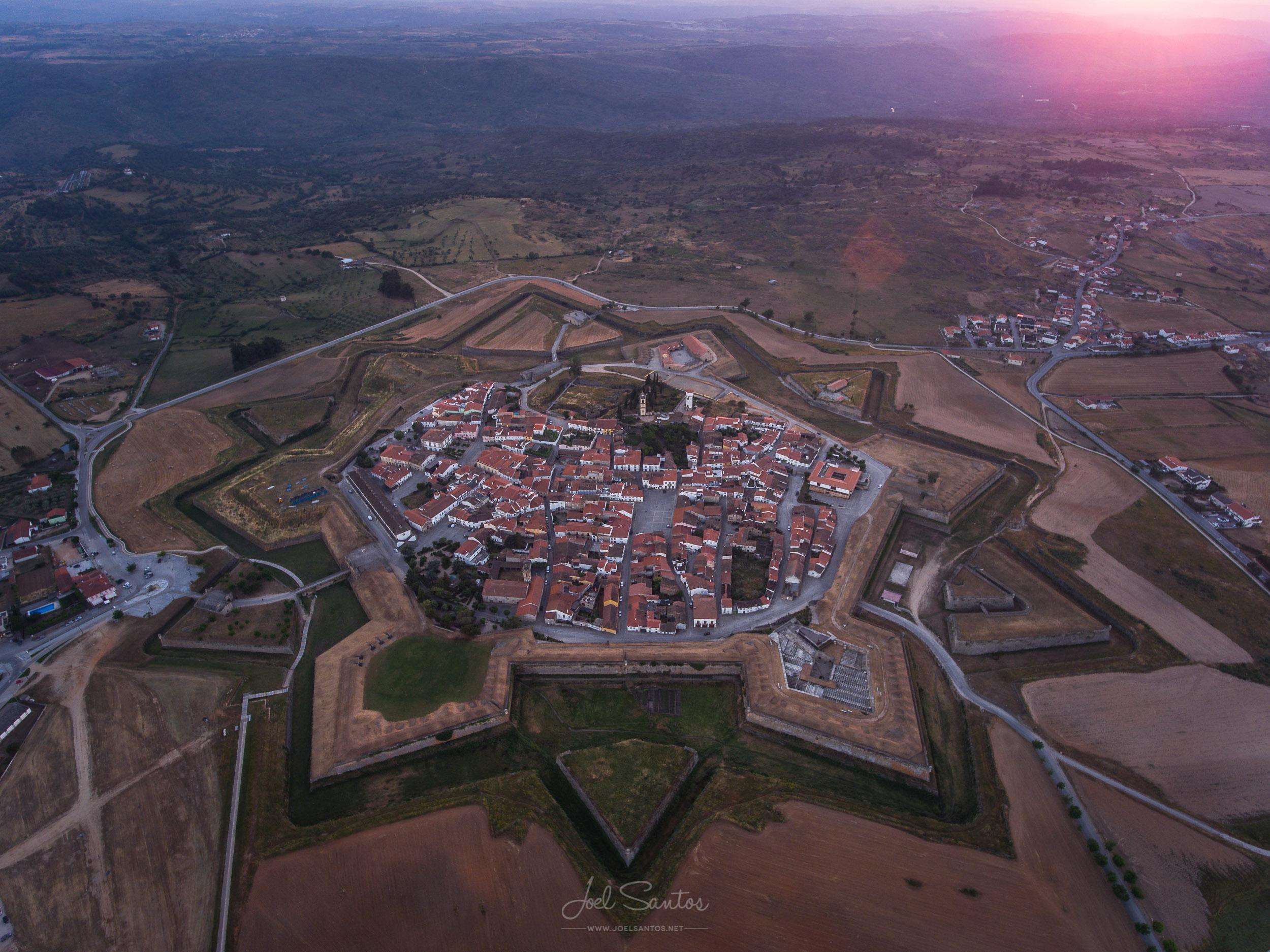 Almeida fortress, Alentejo, Portugal
