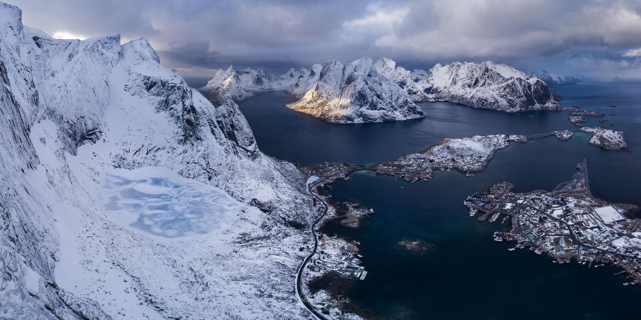 Reinebringen, Reine, Lofoten, Norway
