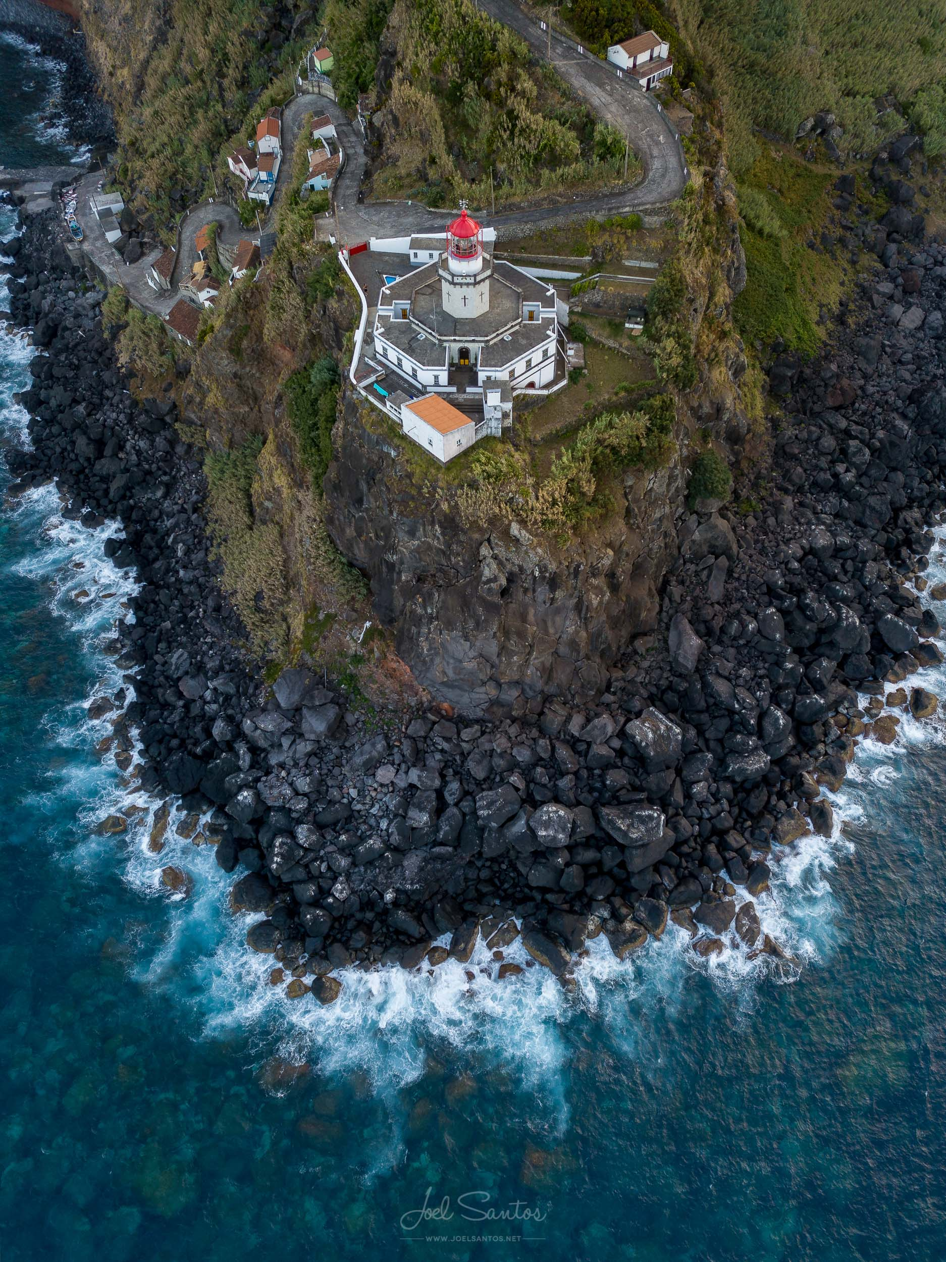 Lighthouse, São Miguel, Azores, Portugal