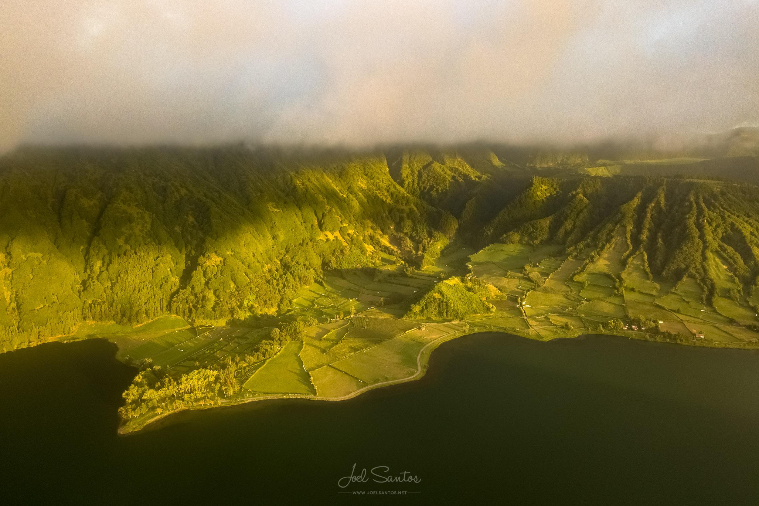 Sete Cidades lagoon,  São Miguel, Azores, Portugal