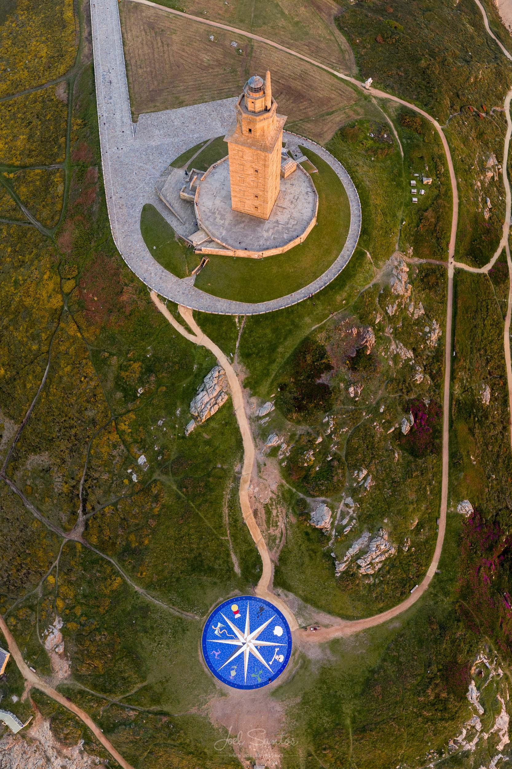 Torre de Hercules, Coruña, Spain