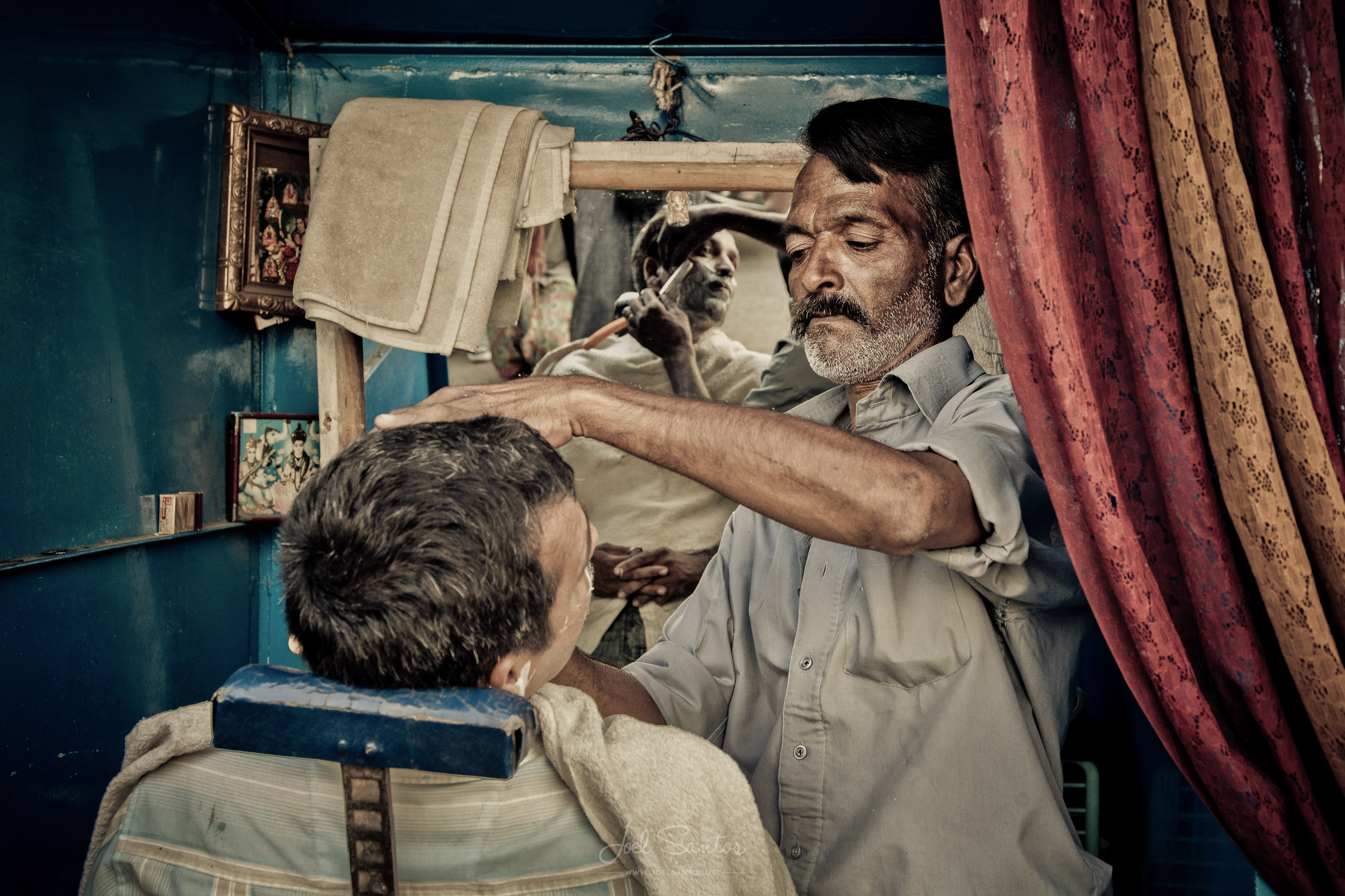 Barber shop, Udaipur, India