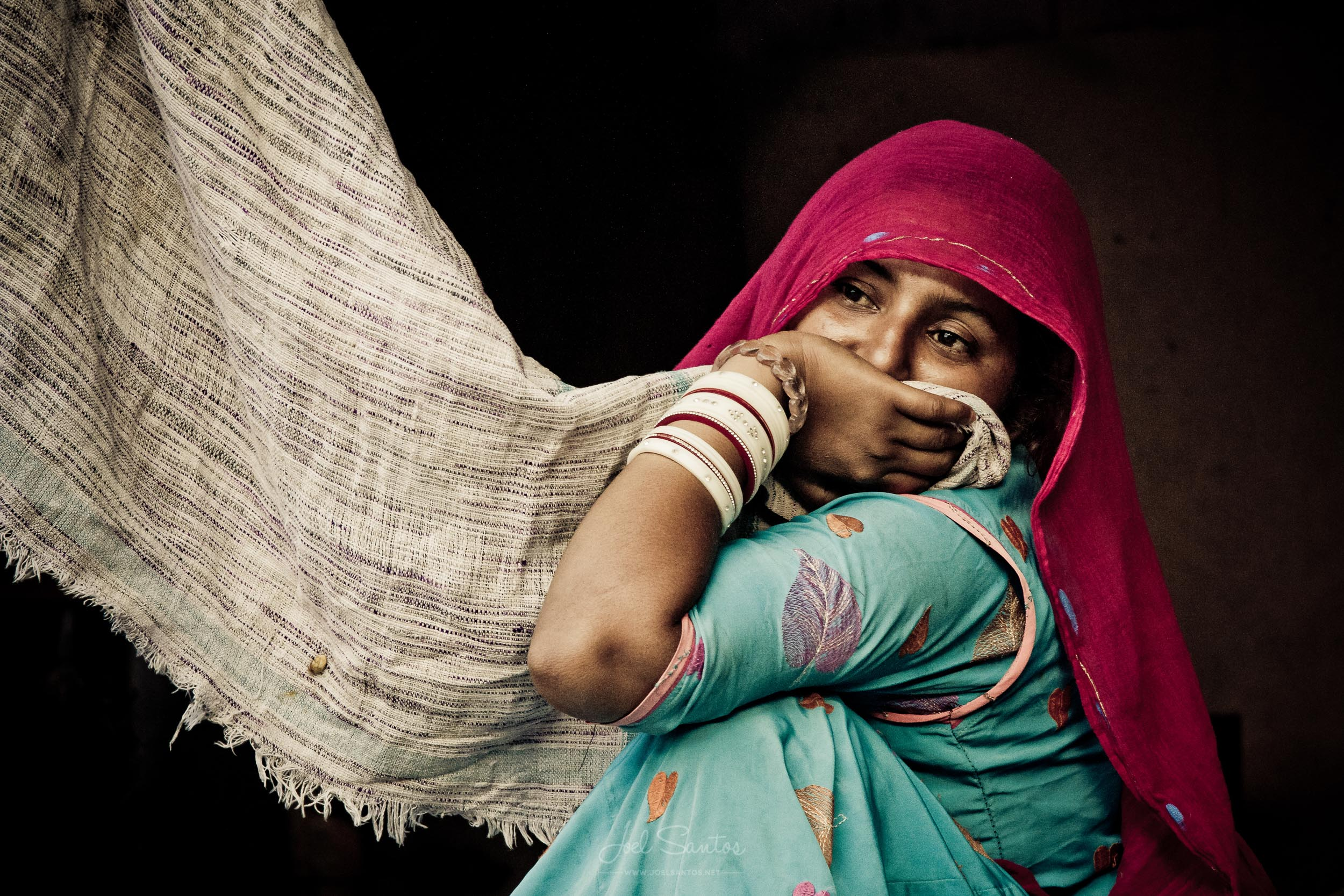 Woman, Udaipur, India