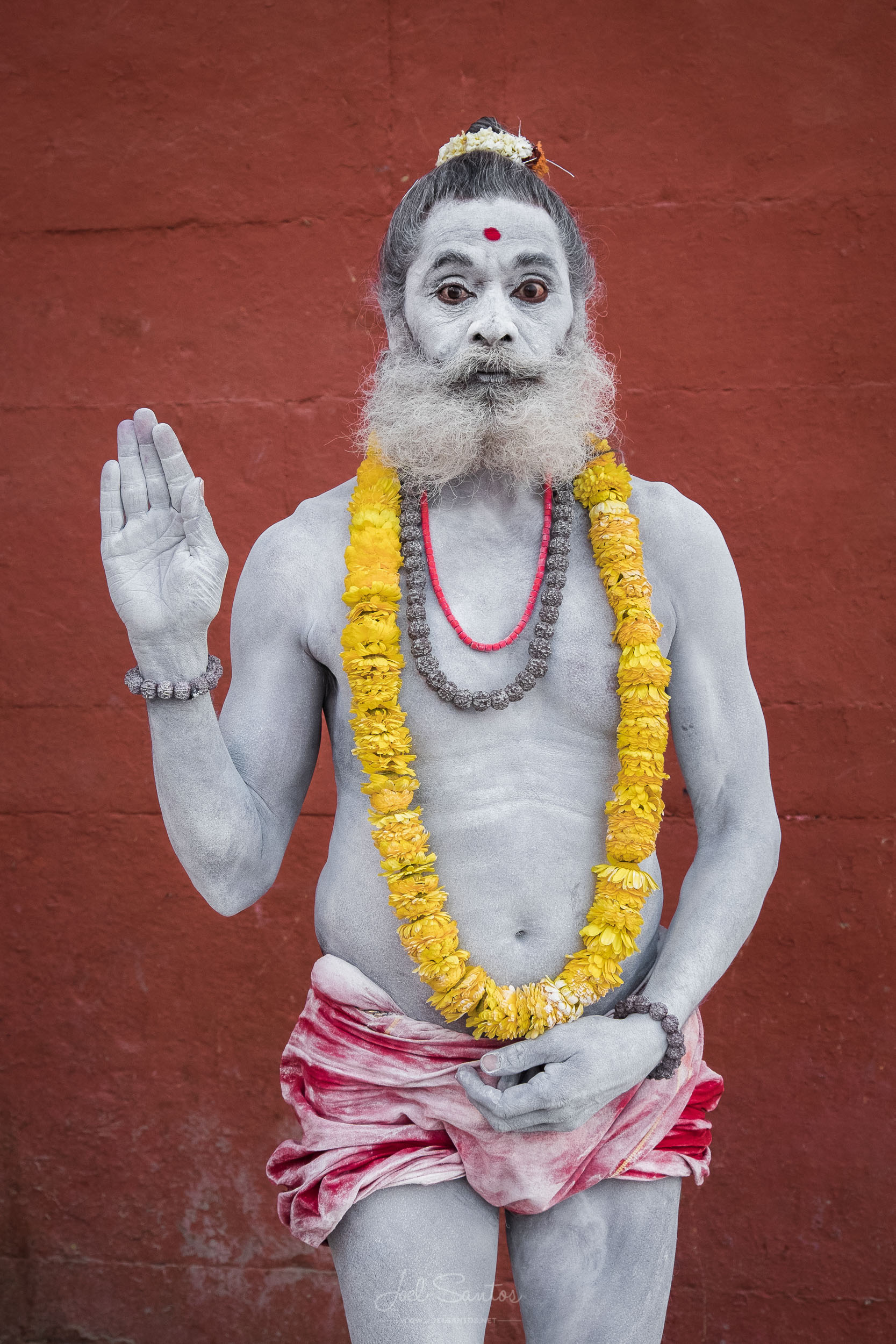 Sadhu (Holy man), Varanasi, India