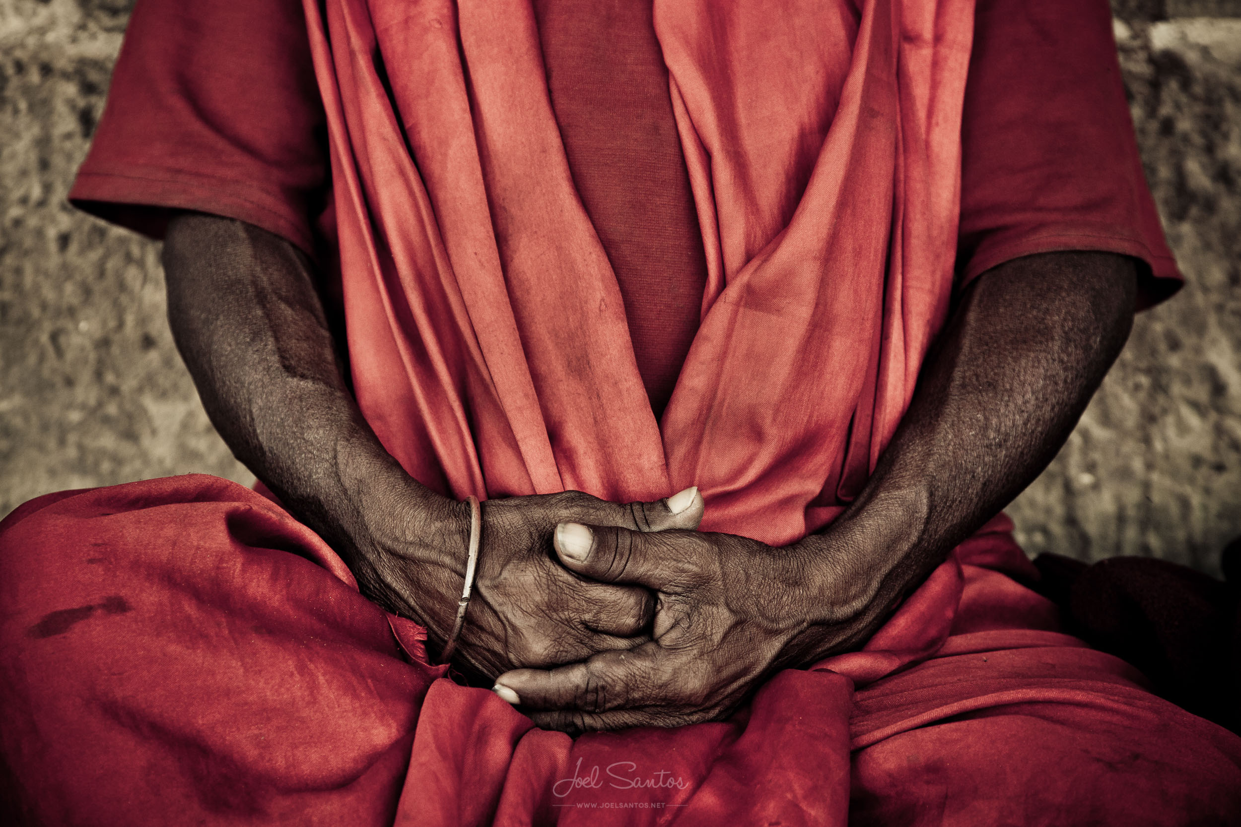 Sadhu Hands, Varanasi, India