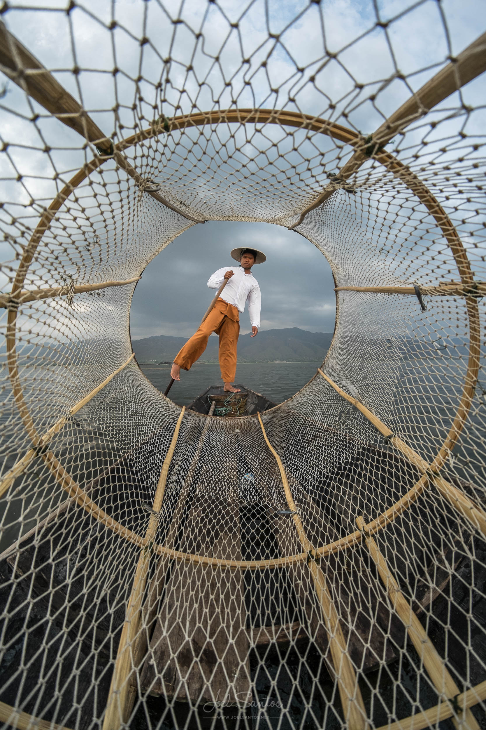 Inle Lake fisherman, Myanmar (Burma)