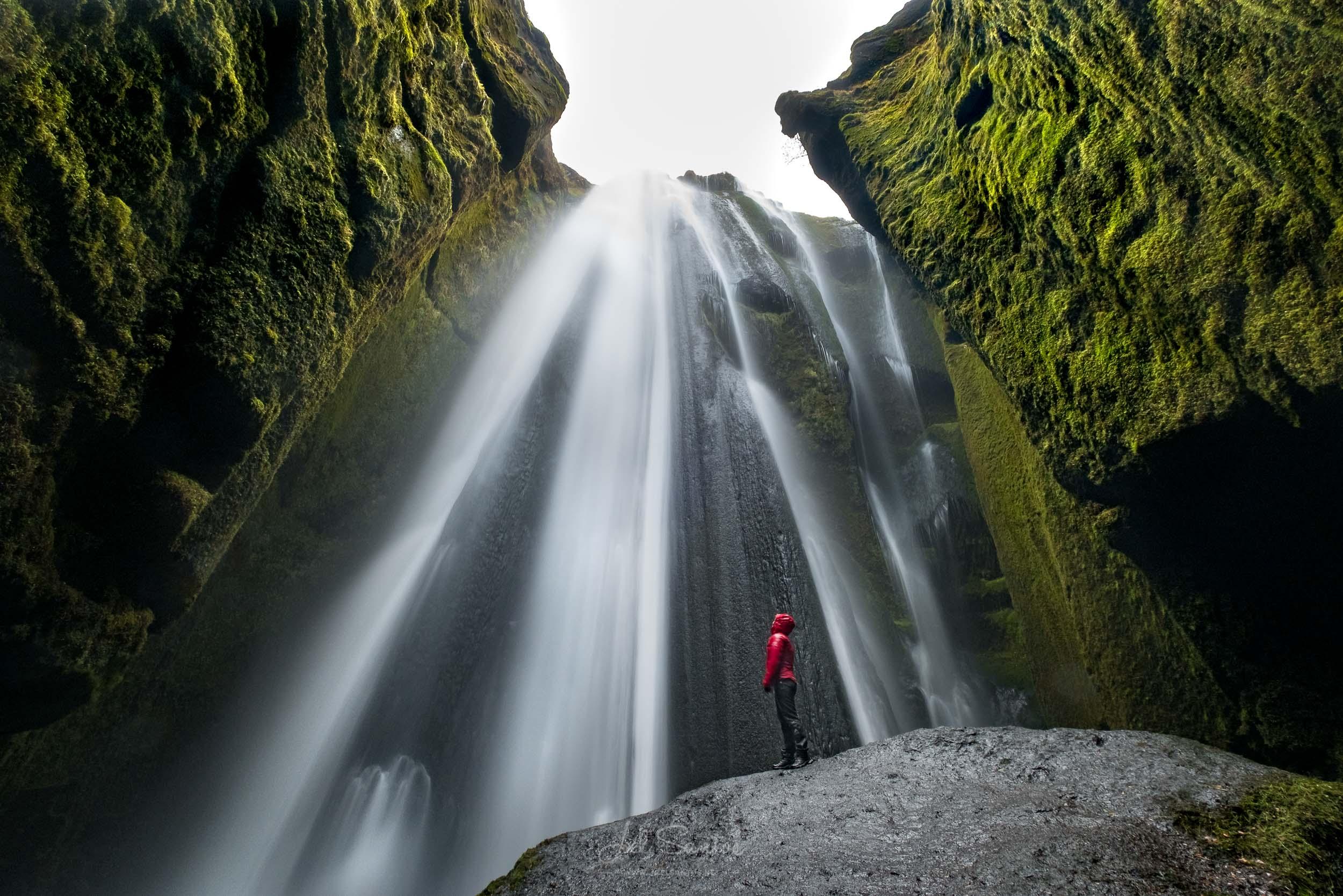 Gljúfrafoss waterfall, Iceland